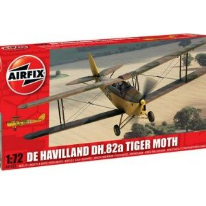 PK 1:72 DH TIGER MOTH MILITARY