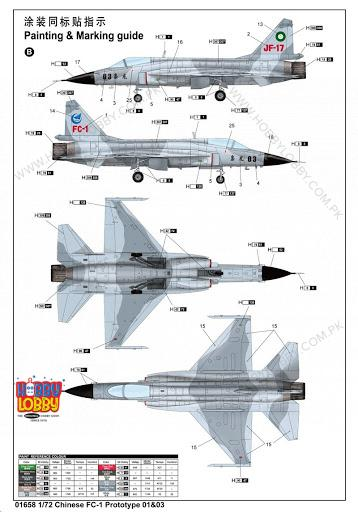 TP 1:72 CHINESE FC PROTOTYPE