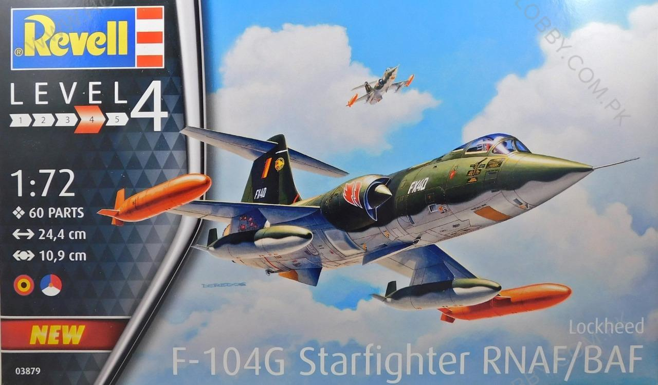 RE 1:72 F-104G STARFIGHTER