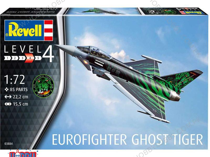 RE 1:72 EUROFIGHTER TYPHOON GHOST TIGER