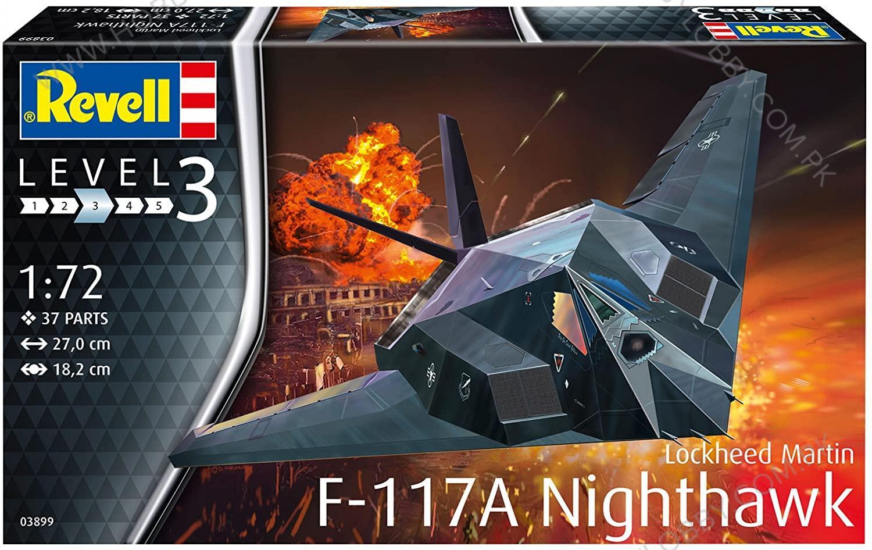 RE 1:72 F-117A NIGHTHAWK STEALTH FIG