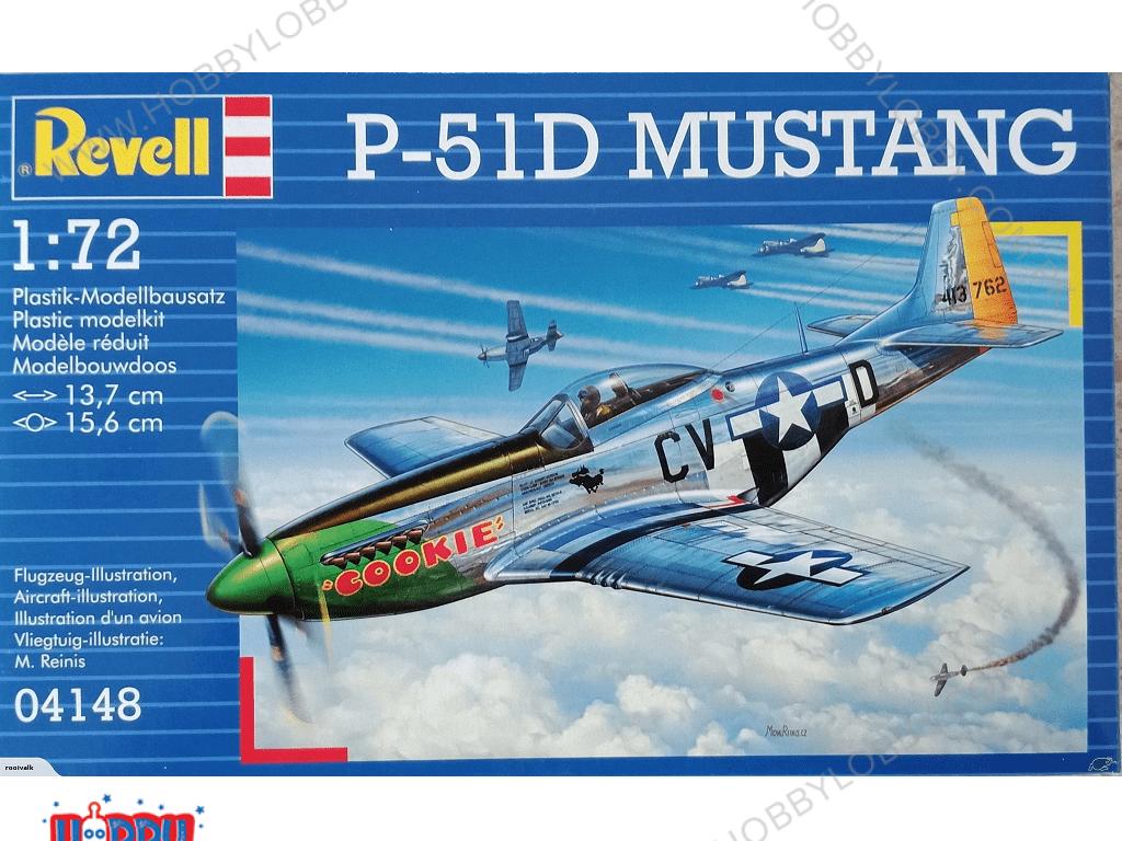 RE 1:72 P-15D MUSTANG