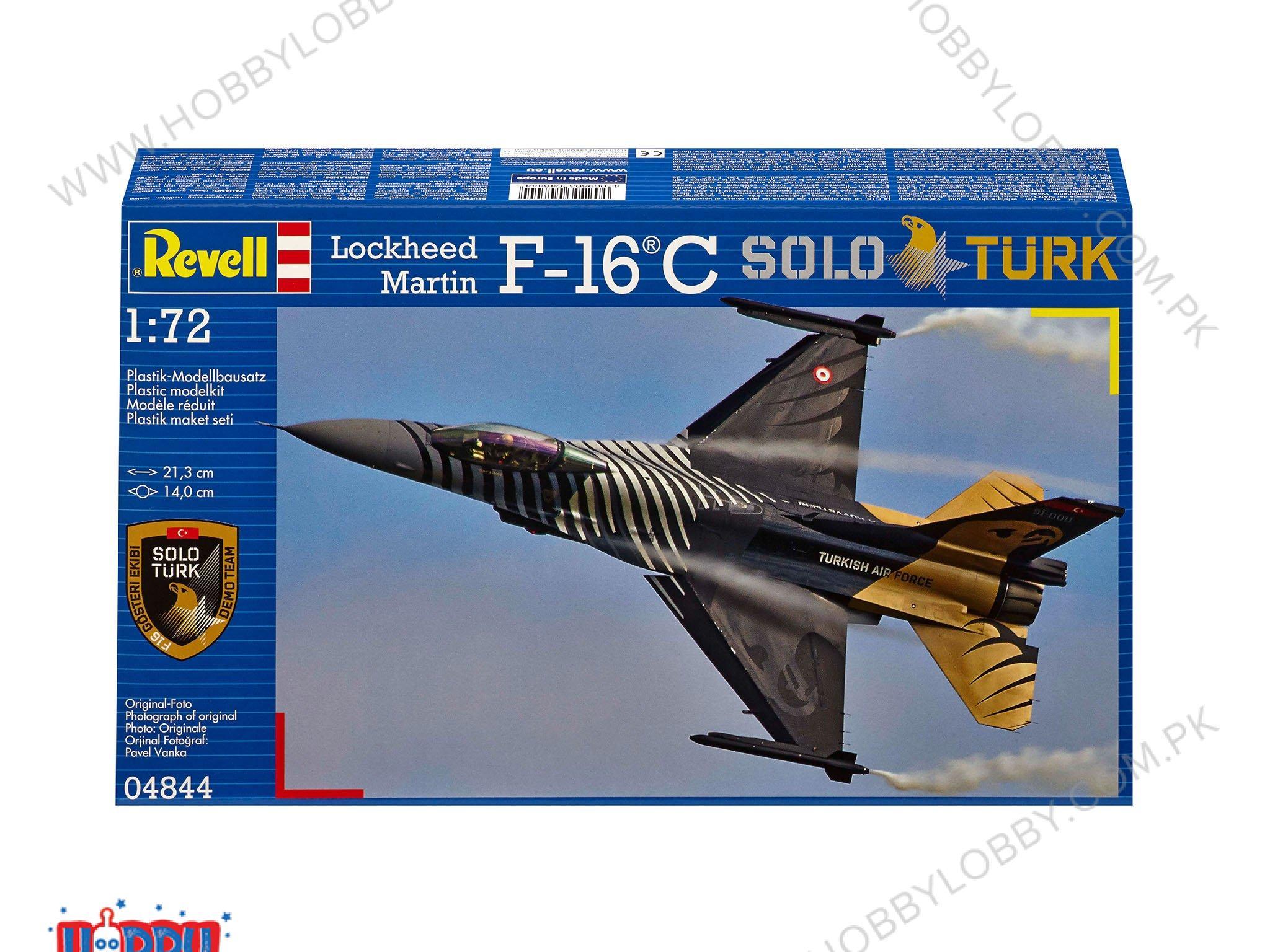 RE 1:72 F-16 C SOLO TURK