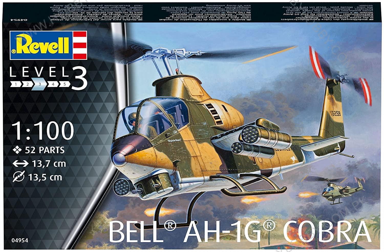 RE 1:100 BELL AH-1G COBRA