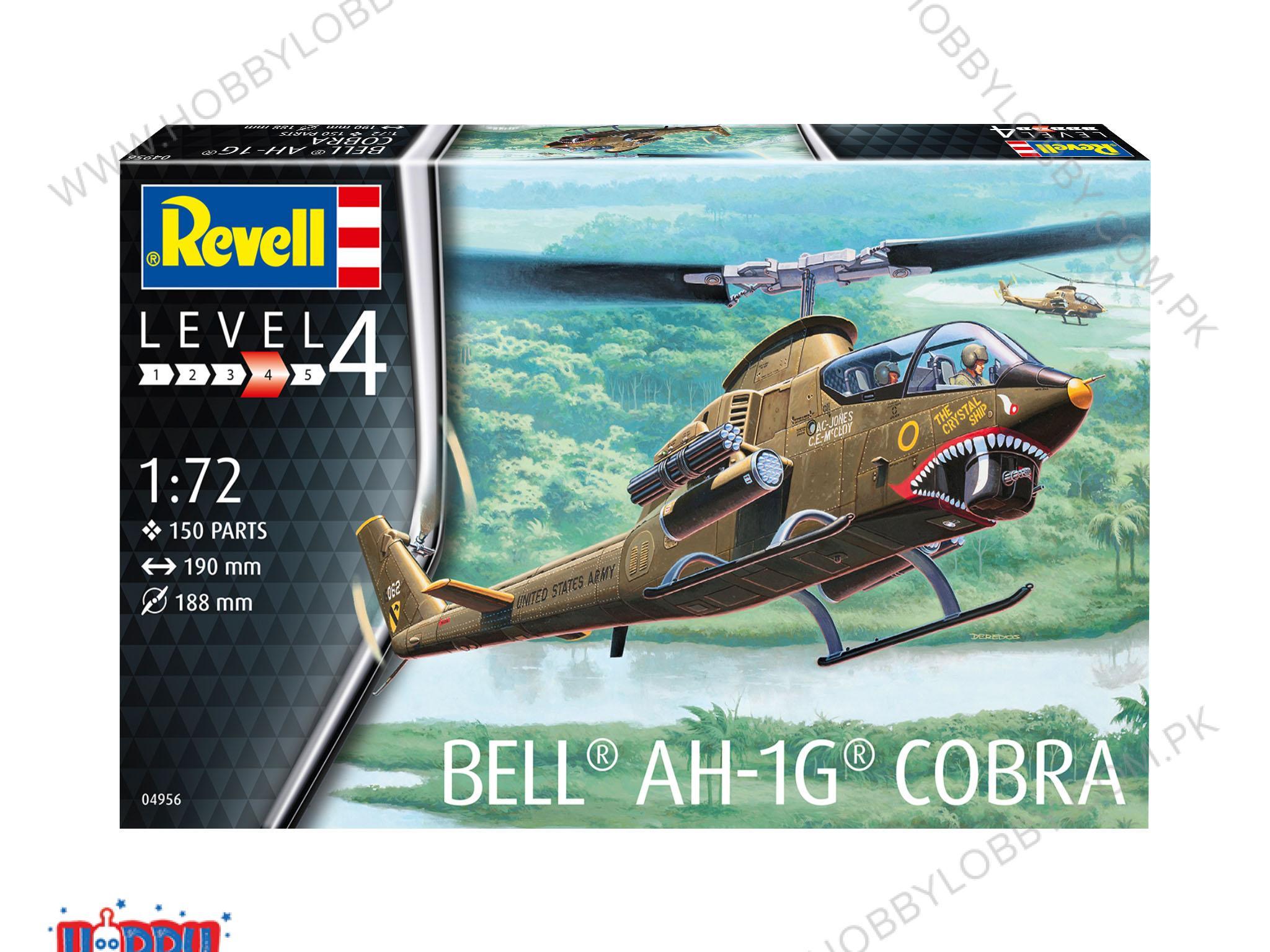 RE 1:72 BELL AH-1G COBRA