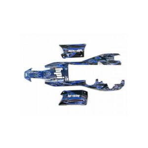 HPI BAJA 5B BUGGY TRIBAL PAINTD BODY (BLUE)
