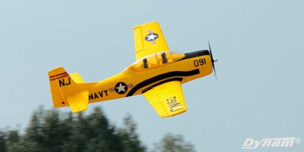 Dynam T28 Trojan Red 1270mm Wingspan