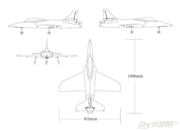 Dynam Meteor V3 70mm