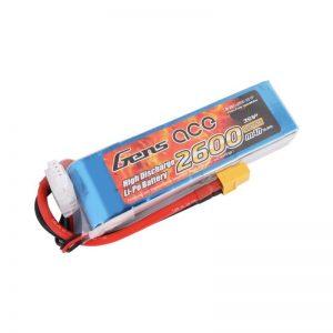 GEN ACE LIPO 2600MAH 3S 25C
