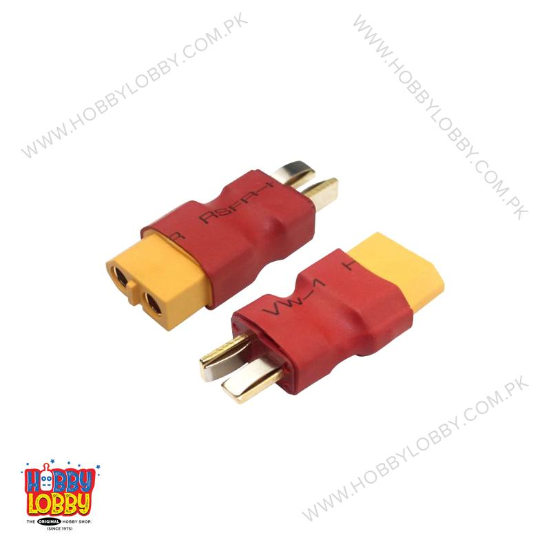 CONNECTOR XT60 MALE TO T MALE
