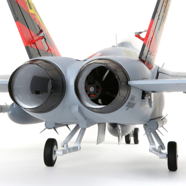 EFLITE F-18 Hornet 80mm EDF BNF Basic with AS3X and SAFE Select, 980mm