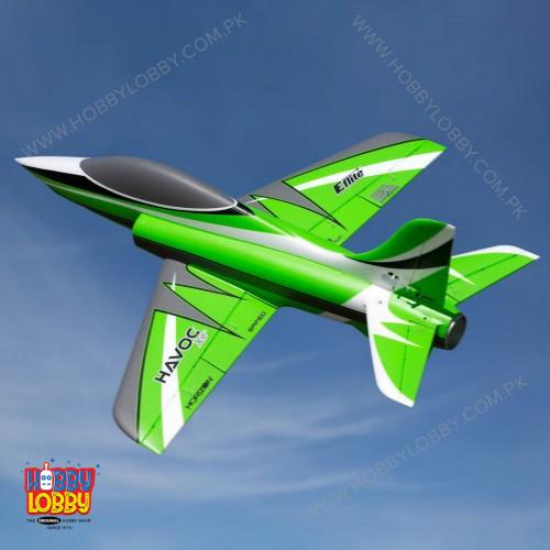 EFLITE HAVOC XE 80MM EDF AS3S/SS BNF