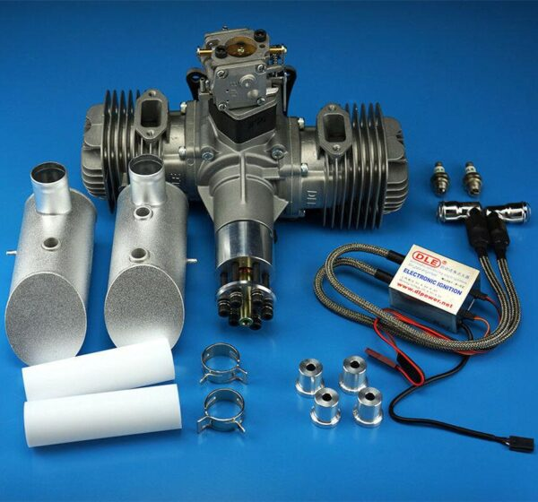 DLE Engines DLE-120cc Twin Gas Engine
