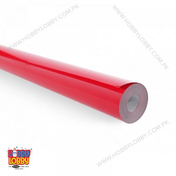 EMAX COVERING BRIGHT RED PER METER