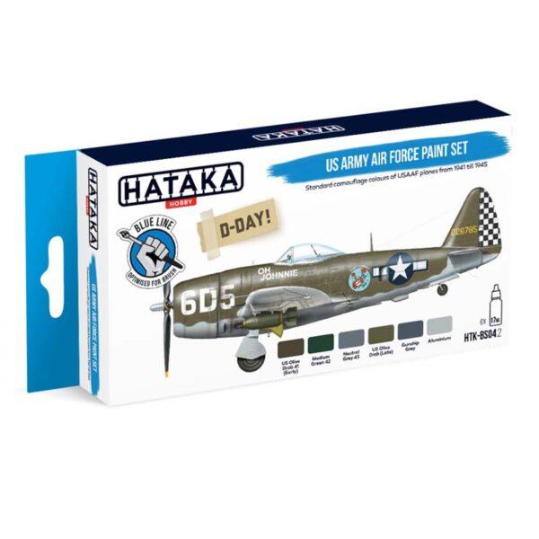 HATAKA US ARMY AIR FORCE PAINT SET