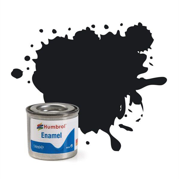 HUMBROL GLOSS BLACK