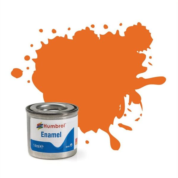 HUMBROL GLOSS ORANGE