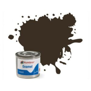 HUMBROL GLOSS SERVICE BROWN