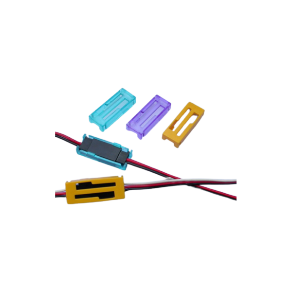 PL CONNECTOR CAP FUTABA/JR (BLUE) 5 PCS