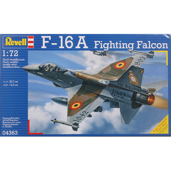 RE 1:72 F-16A FIGHTING FALCON