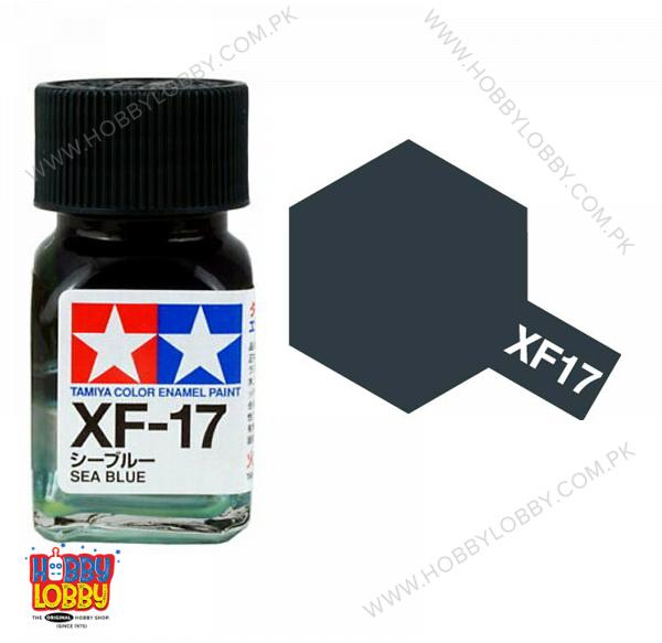 TAMIYA XF-17 ENAMEL SEA BLUE
