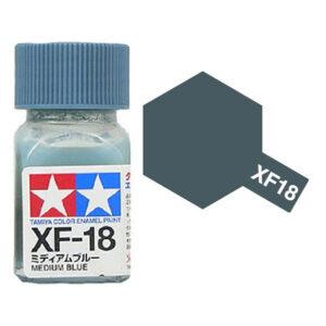 TAMIYA XF-18 ENAMEL MEDIUM BLUE