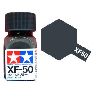 TAMIYA XF-50 ENAMEL FIELD BLUE