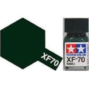 TAMIYA XF-70 ENAMEL DARK GREEN (IJN)