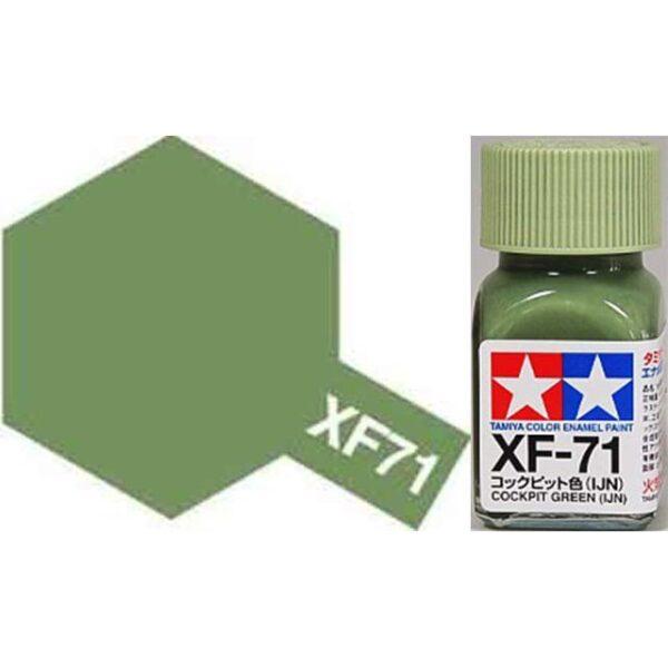 TAMIYA XF-71 COCKPIT GREEN