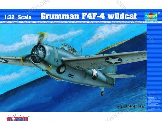 TP 1:32 AIRCRAFT F4F-4 WILDCAT