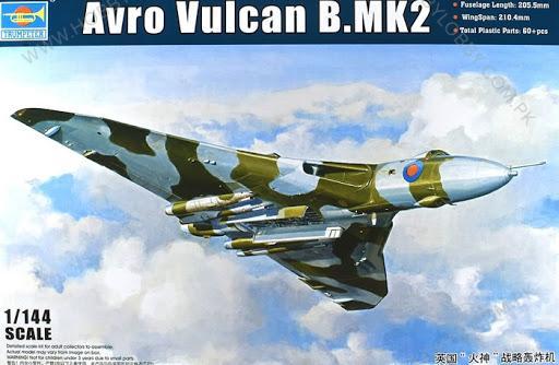 TP 1:144 AVRO VULCAN B.MK 2