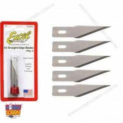 EXCEL BLADE STRAIGHTS 5 PCS