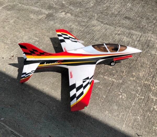 Freewing Red color Avanti S 80mm EDF Ultimate Sport Jet - PNP RC