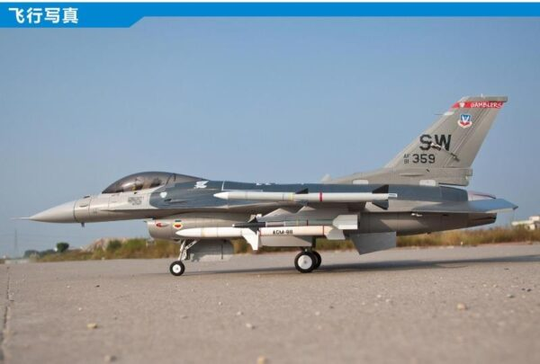 Freewing F-16 Super Scale 90mm EDF Jet PNP RC